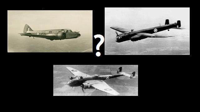 Can you identify the mystery plane?