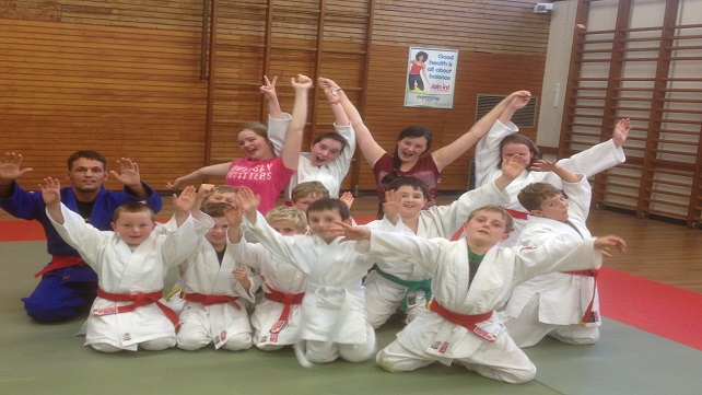 Judo Juniors celebrate grading successes