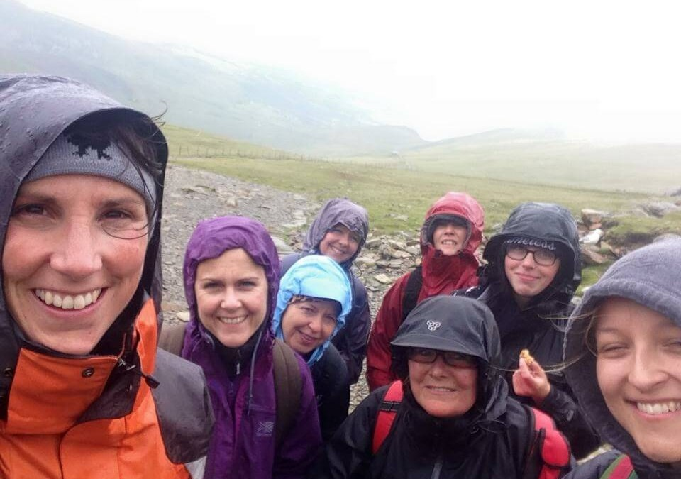 Belvoir Lettings Bingham Snowdon charity walk