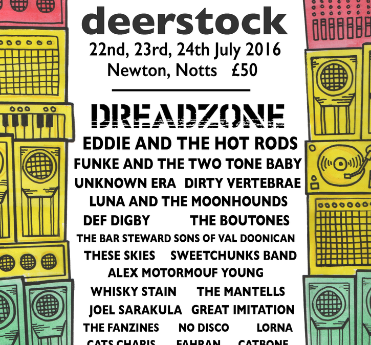 Deerstock Music Festival 22nd-24th July 2016