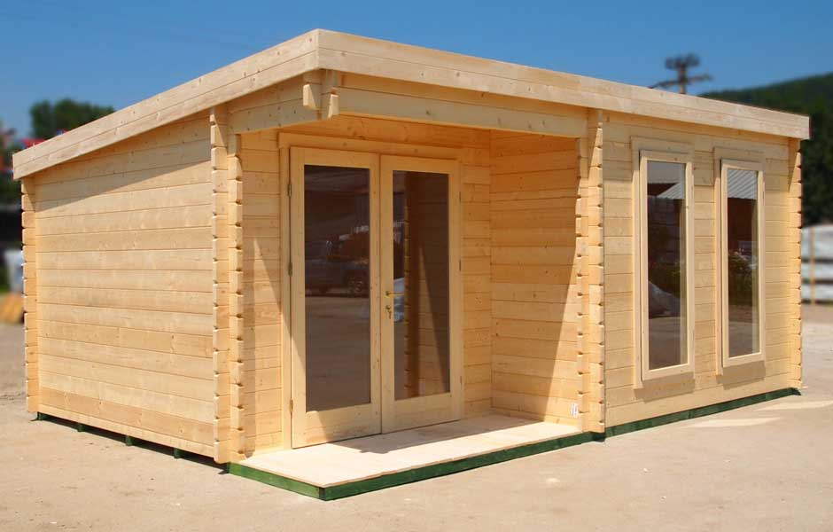 Bingham Entrepreneur Launches Log Cabin and Home Offices Website