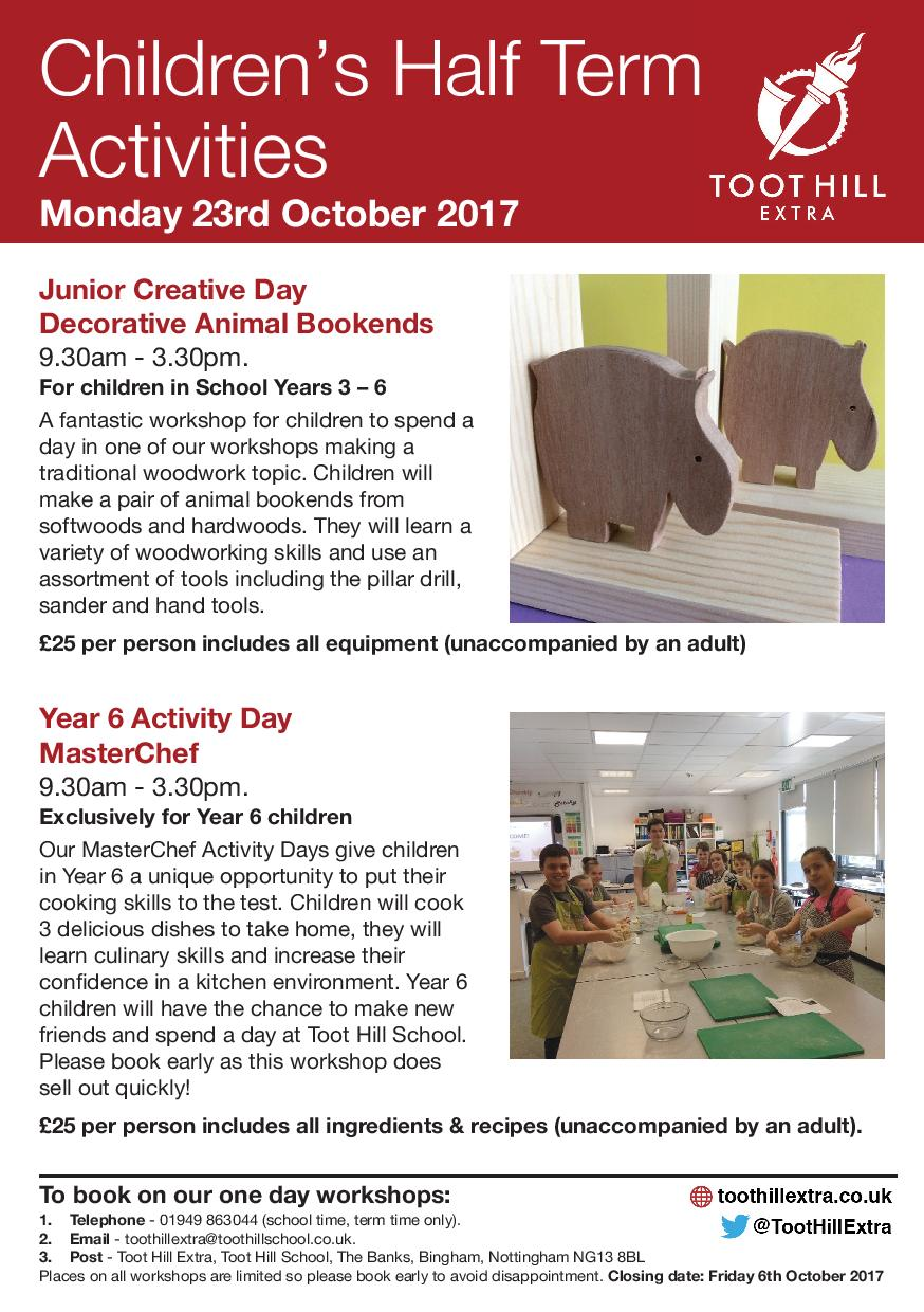 Childrens Half Term October Activities-page-001